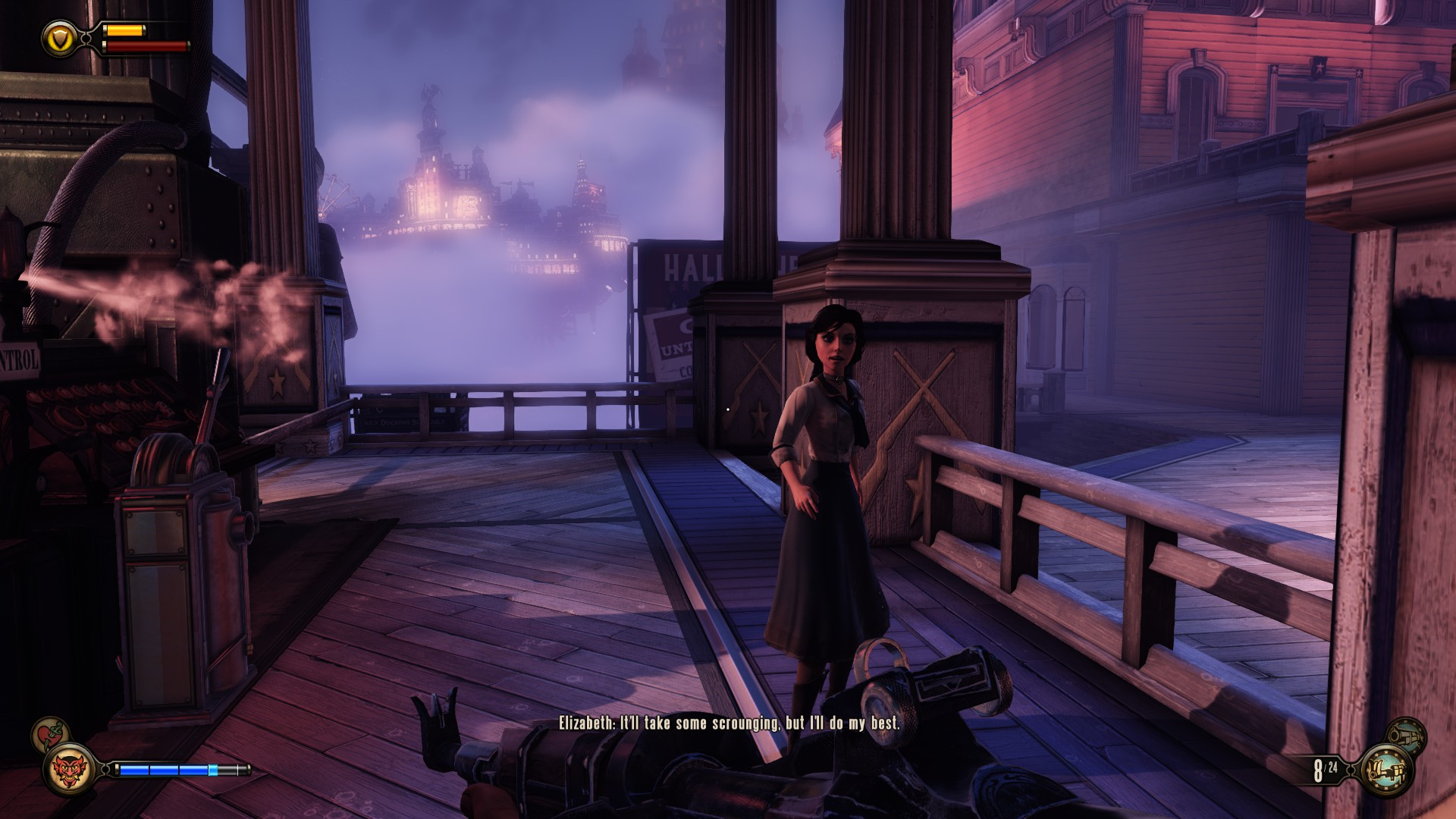 Elizabeth may well be the least annoying companion character in any video game