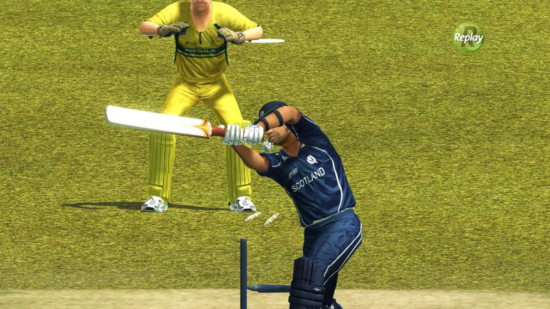 Very few game video game experiences are as satisfying as knowing that one has really outsmarted a bastman in Brian Lara.