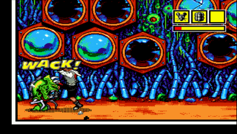 Comix Zone makes good use of its source material's tropes.