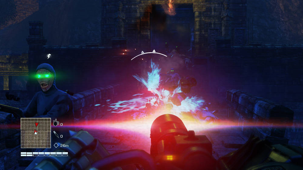Blood Dragon's aesthetic is striking if nothing else.