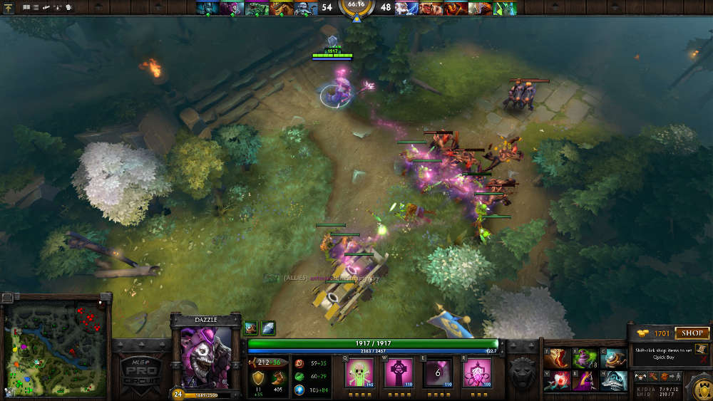 "DOTA doesn't shy away from bright colours: a move away from ""grimdark"" in the genre is welcome."