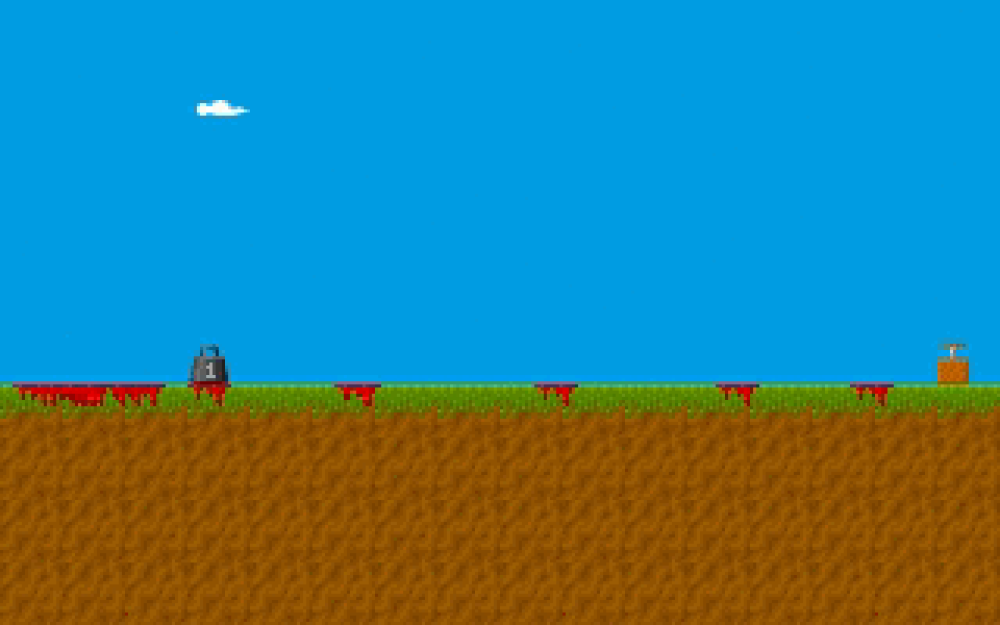 If played with a certain mindset, the game can become a somewhat grim Mario Paint.